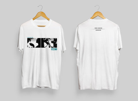 Ferry Corsten X Dim3nsion UNITY Collaboration T-Shirt White
