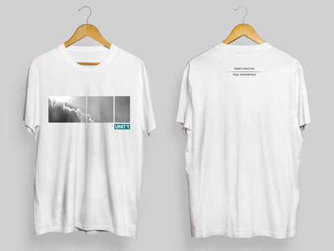 Ferry Corsten X Paul Oakenfold UNITY Collaboration T-Shirt White