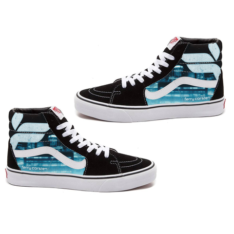 Limited Edition Ferry Corsten Sk8-Hi Vans