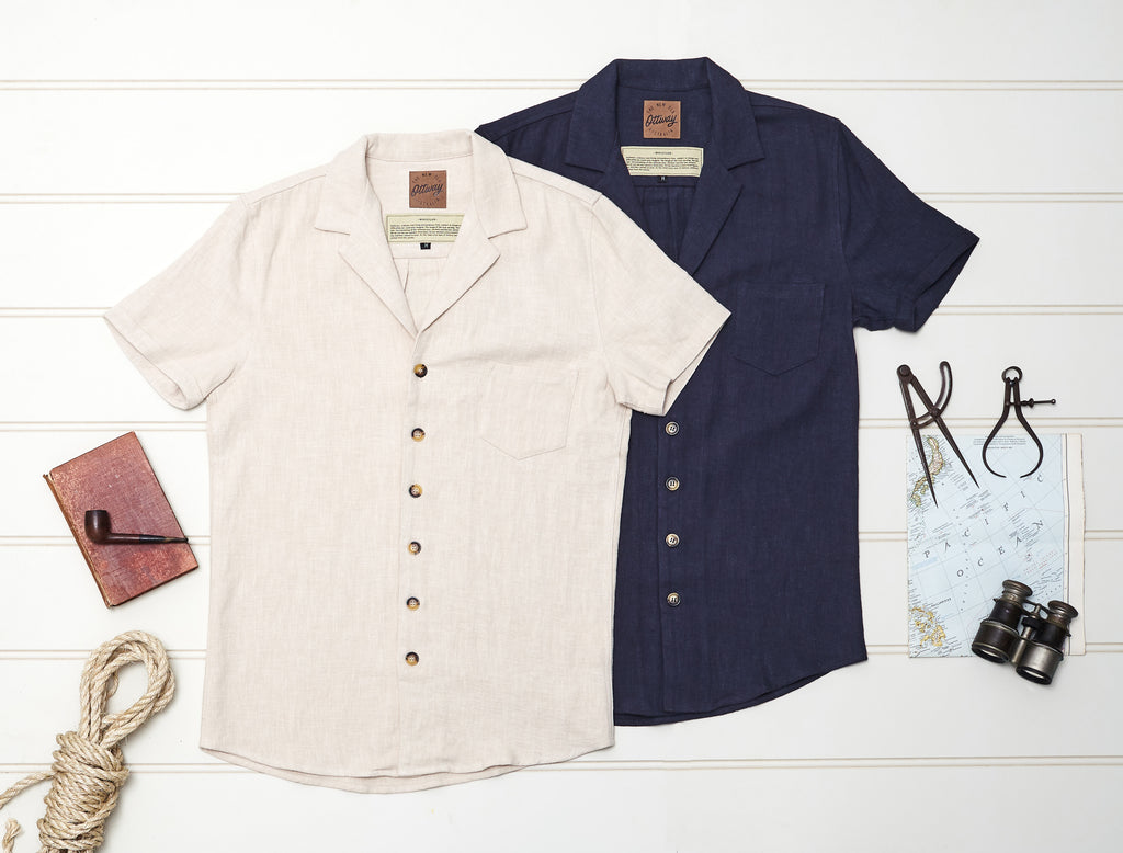 summer short sleeve vintage shirts