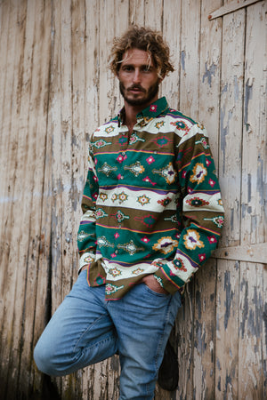 Navajo - Long Sleeve Vintage Shirt