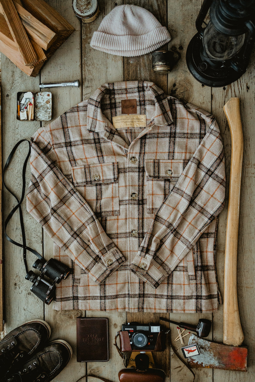 Henderson - Flannel Shirt/Jacket