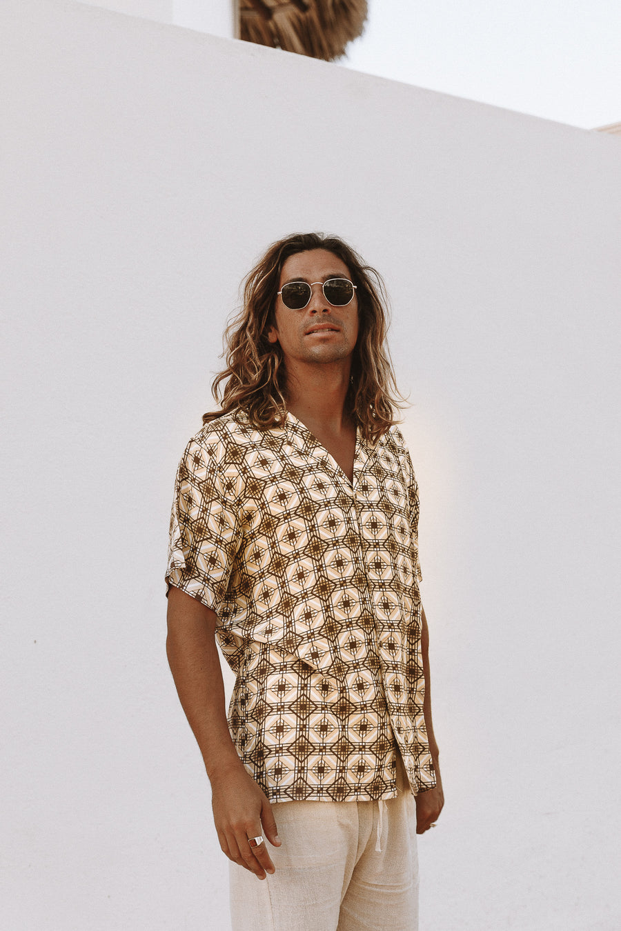 MARLEY - Retro Short Sleeve Shirt