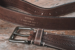 Russet Handcrafted Leather Belt