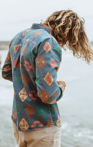 Riverston - Long Sleeve Vintage Shirt