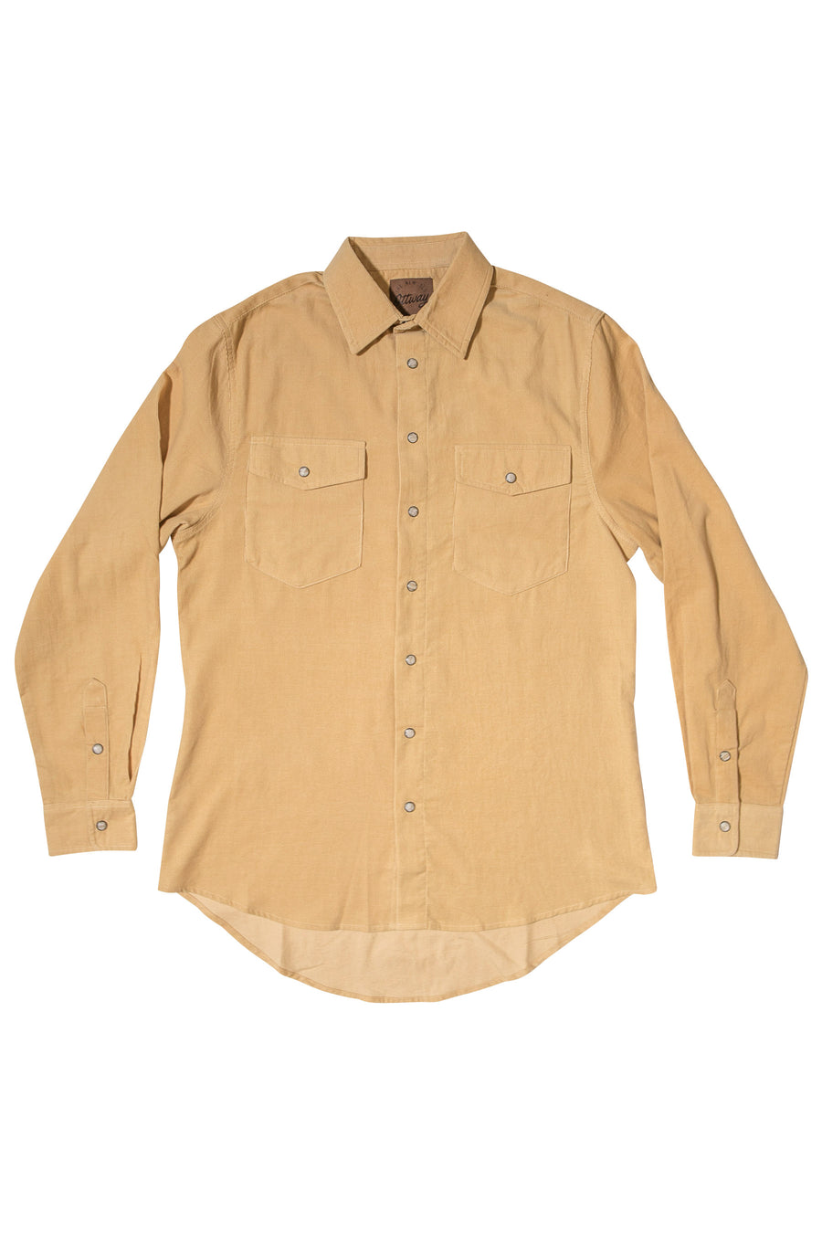 R&G Mustard - Corduroy Long Sleeve Shirt