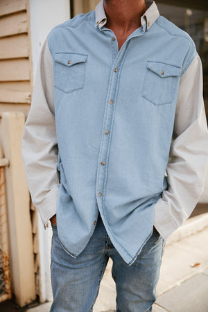 Blueford - Denim Long Sleeve Shirt