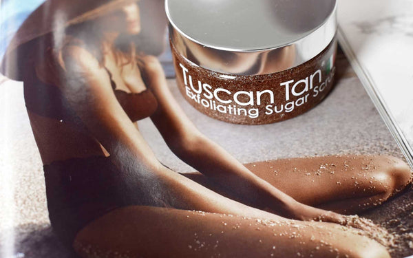 Use an exfoliating body scrub for smooth, summer ready skin