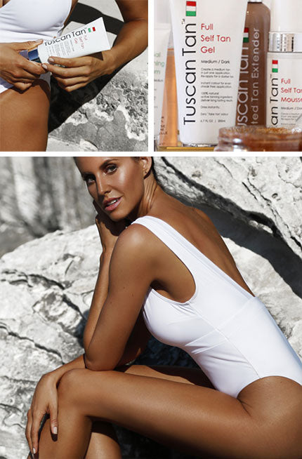 Tuscan Tan Dark Self Tan Gel