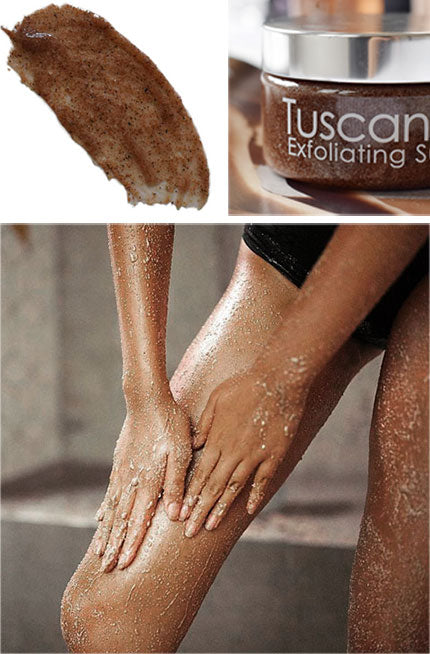 Tuscan Tan Exfoliating Sugar Scrub