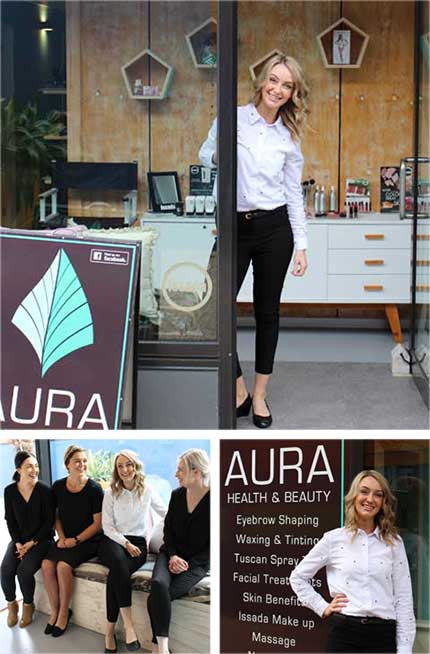 Tuscan Tan Stockist - Aura Health and Beauty
