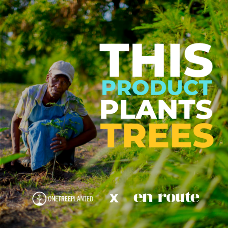 This product plants trees