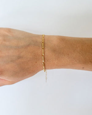 Mini Chain Gold Vermeil Bracelet