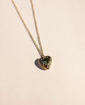 Bad Boys Heart Locket Necklace