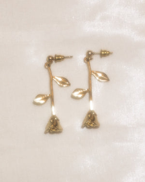 A Rose Gold Earrings