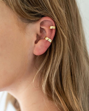 Duo Gold Ear Cuff