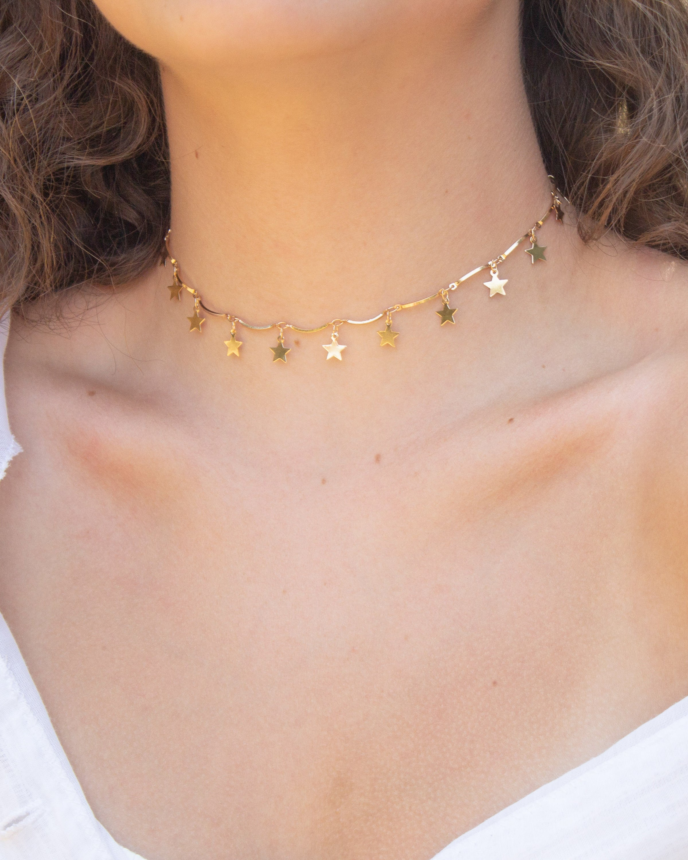 Crystal Choker (3 / 5 / 8 / 12 Rows) | Noodz Boutique