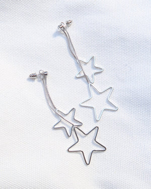 Double Shine Star Earrings