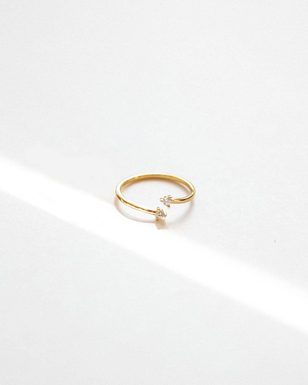 Eva Gold Vermeil Ring