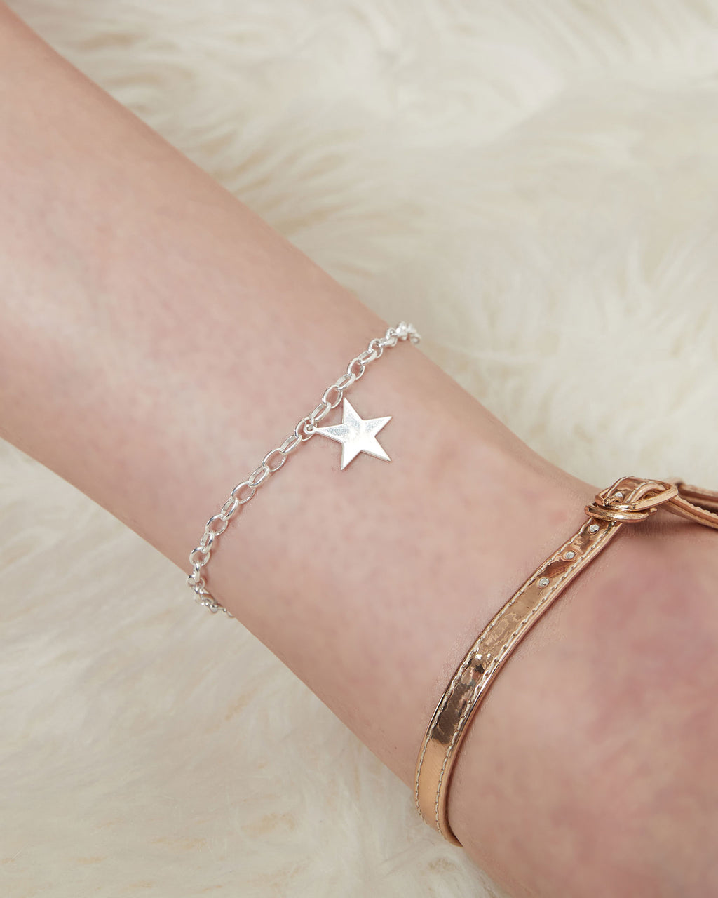 Star Chain Anklet