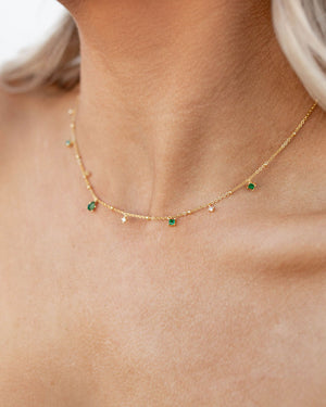 Elysee Emerald Necklace