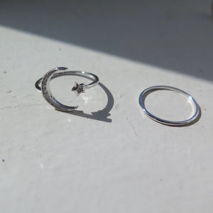 Sailor Moon Silver Ring Pack, ring, En Route jewelry - En Route jewels