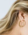 Billie Gold Hoop Earrings