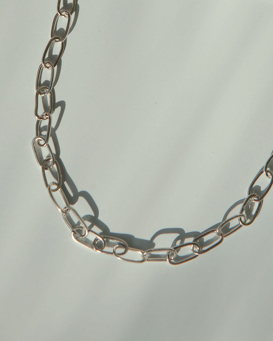 Natalie Silver Chain Necklace
