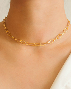 Gold Vermeil Chain Necklace