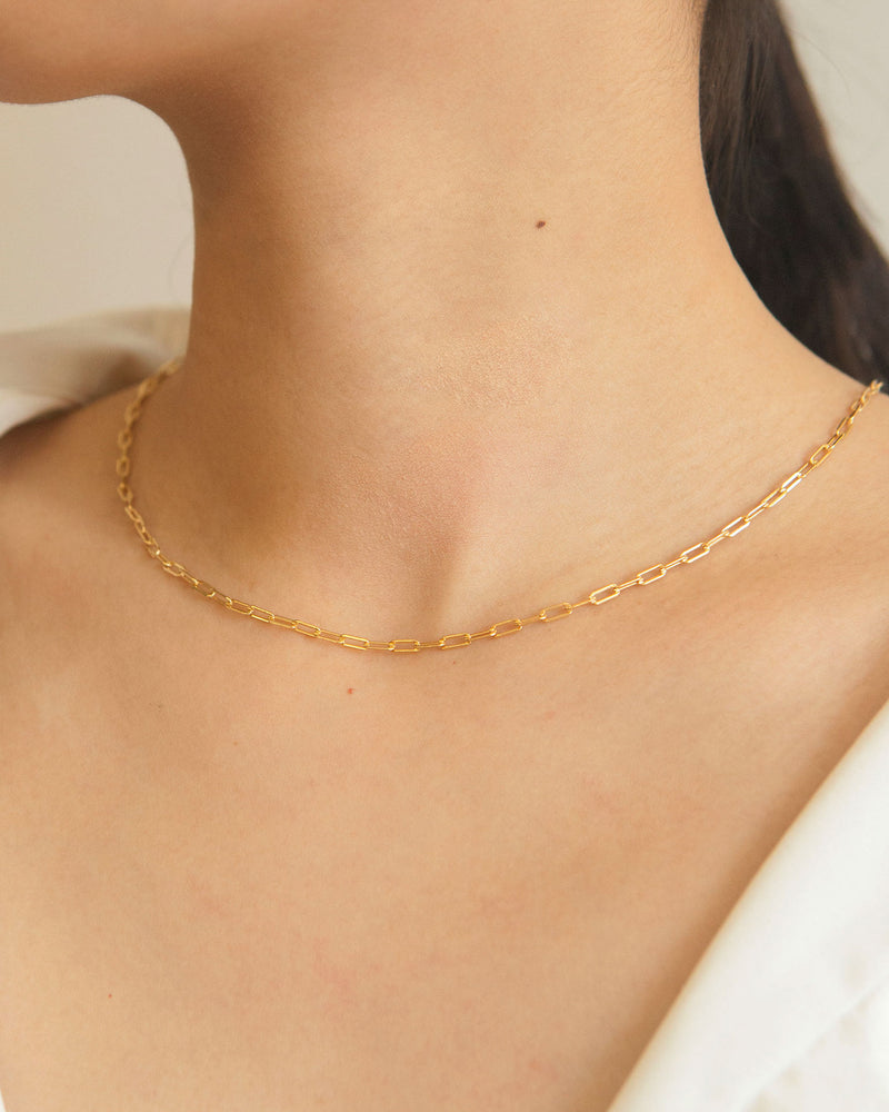 Giulia Gold Vermeil Chain Necklace