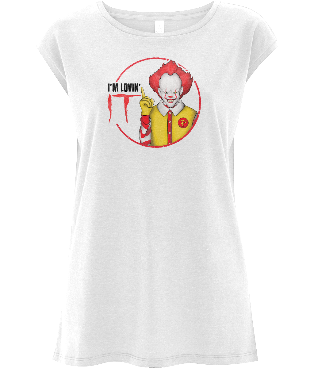 Pennywise Lovin' IT Women's Capped Sleeve Tee