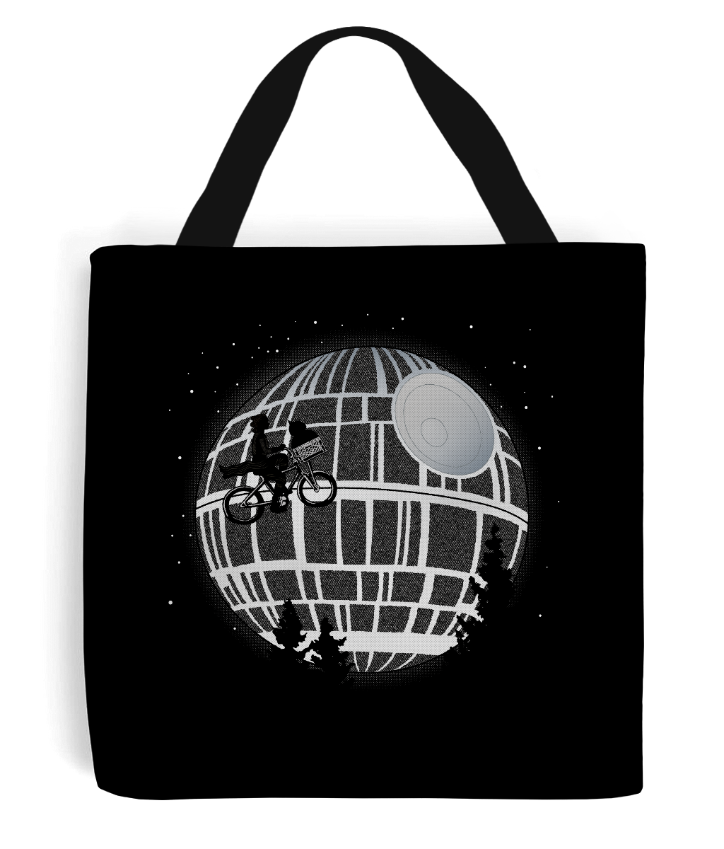 star wars death star tote bag