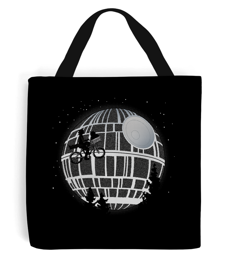 Fly Me To The Death Star Tote Bag