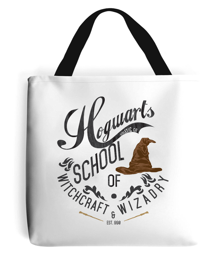 Hogwarts School Tote Bag