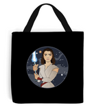GoT vs Star Wars Arya Tote bag