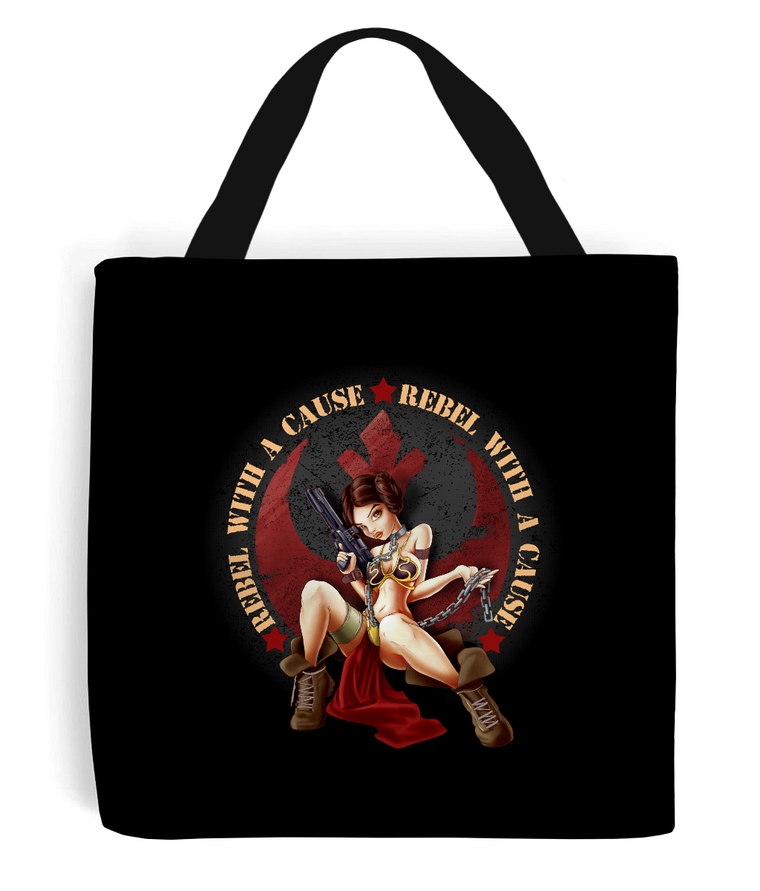 Rebel With a Cause Tote Bag
