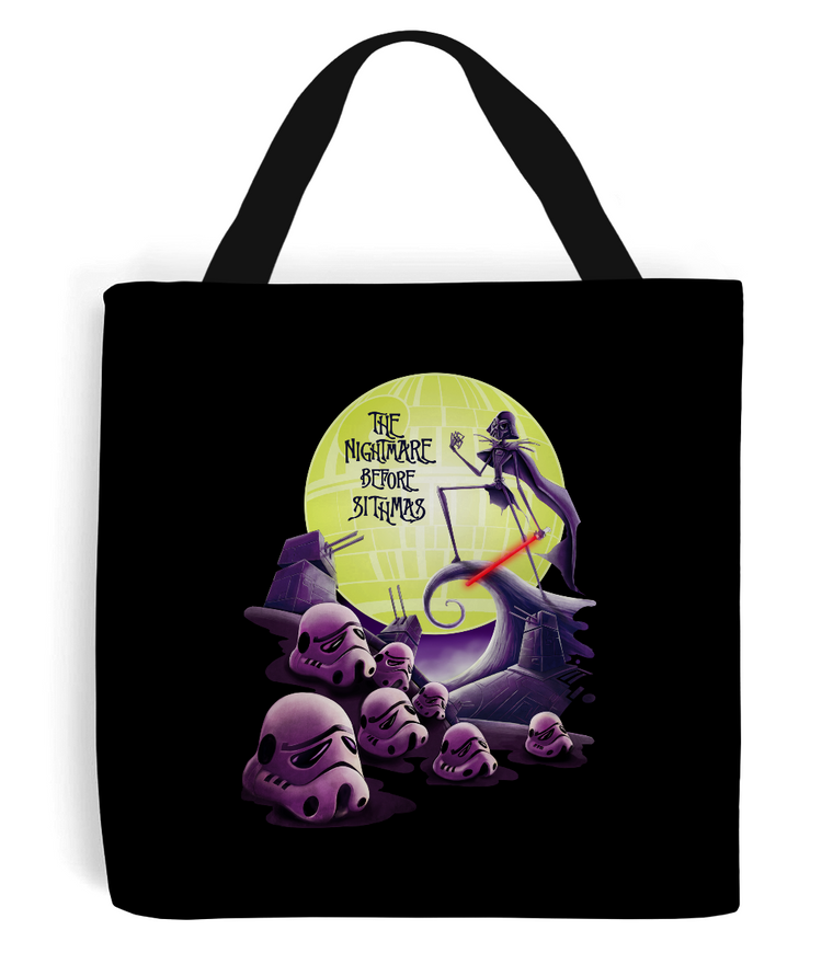 Star Wars The Nightmare Before Sithmas Tote Bag