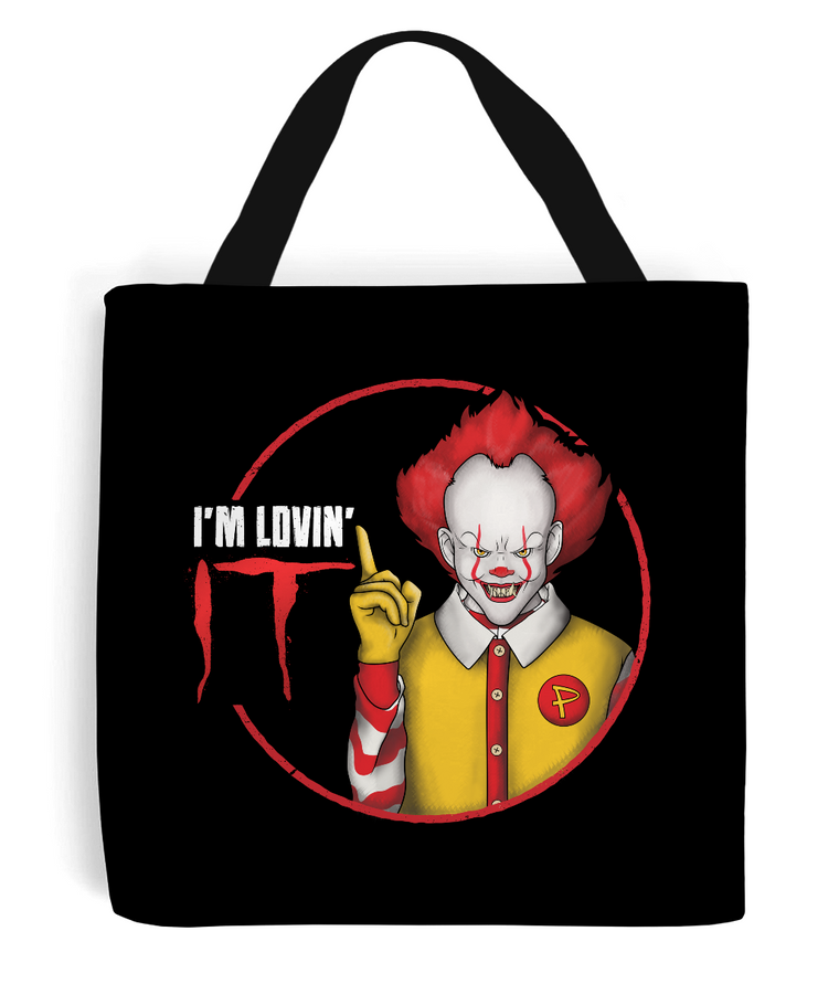 Pennywise I'm Lovin' IT Tote Bag