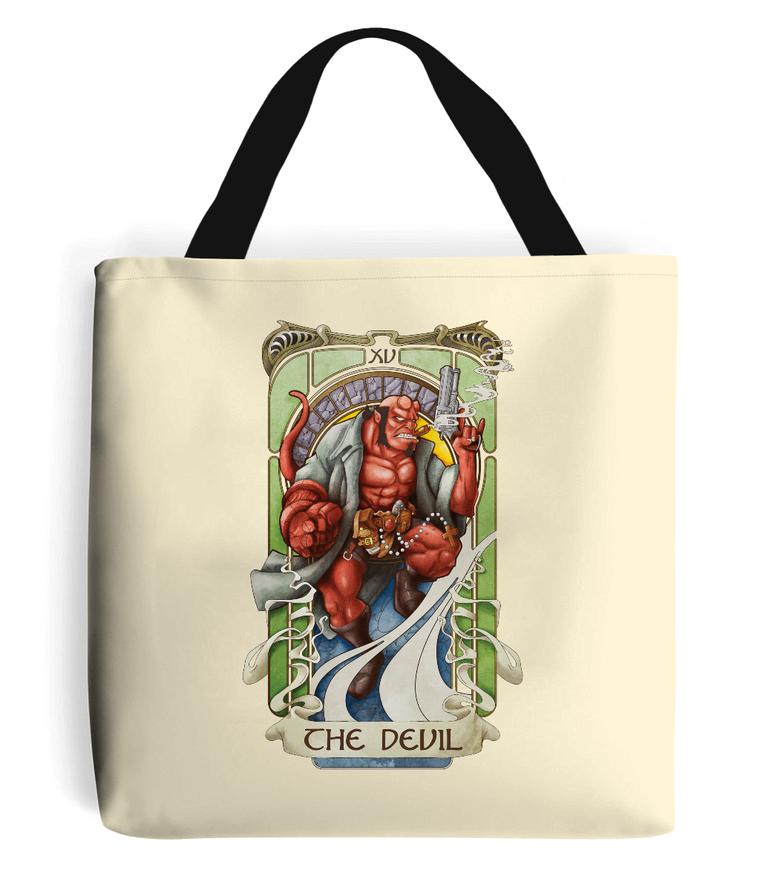The Devil Tarot Tote Bag