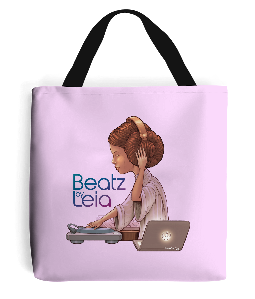Beatz by Leia Tote Bag
