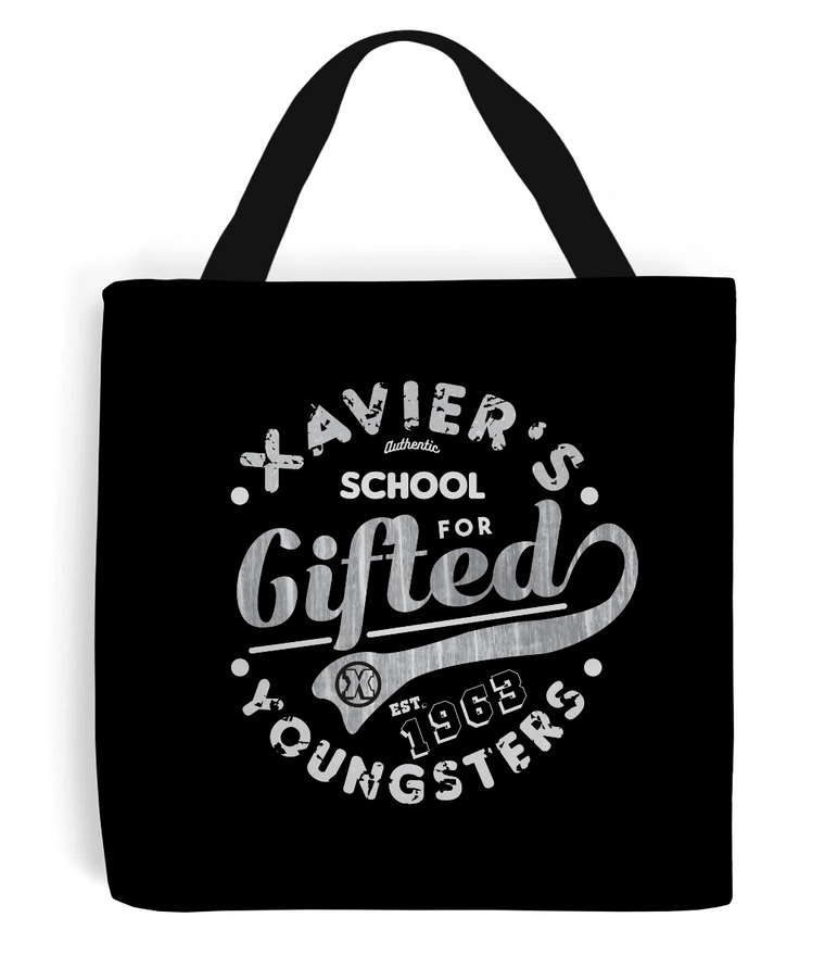 xavier school tote bag black