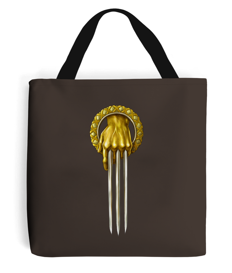 Hand of the King Wolverine Tote Bag