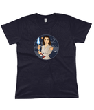 Game of Thrones vs Star Wars Arya Stark Graphic Tee