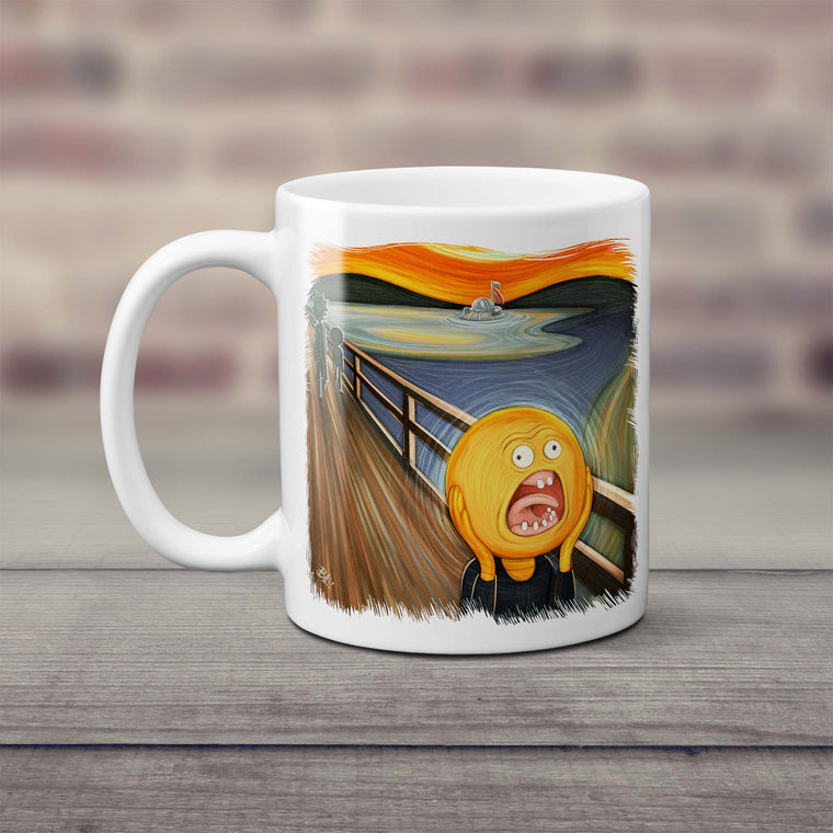 Rick & Morty Screaming Sun Mug