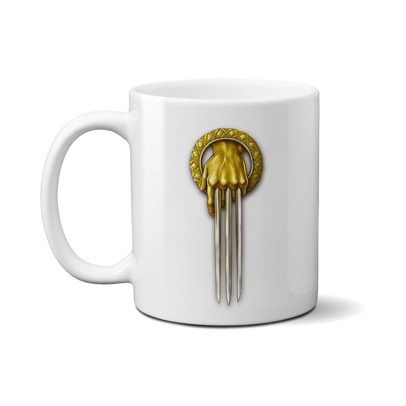 game of thrones hand of the wolverine mug