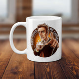 Doctor Who Don't Touch My Coffee Mug