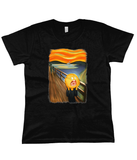 Rick & Morty Screaming Sun Women's Flowy Tee
