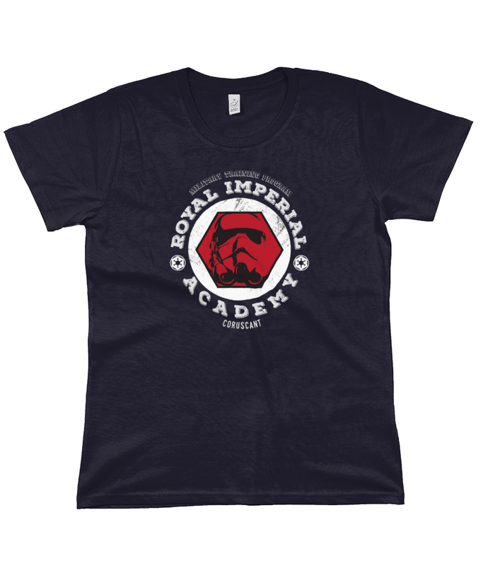 royal imperial academy star wars t-shirt navy