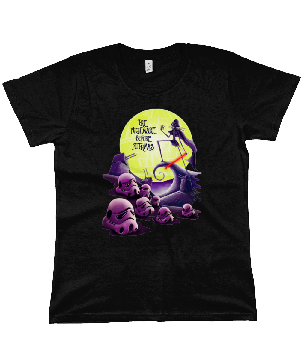 star wars nightmare before sithmas t-shirt