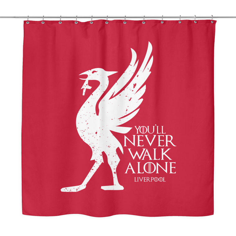 House Liverpool FC Shower Curtain